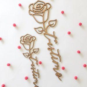Rosas Madera
